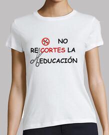 no recortes a la educacion