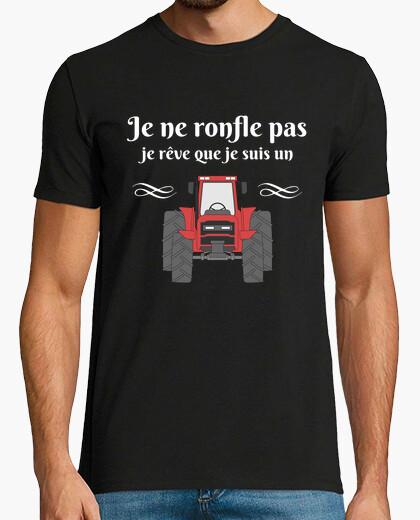 Camiseta No ronco sueño que soy tractor