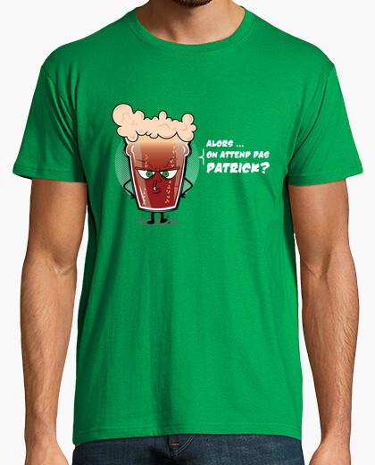 Camiseta no se espera patrick