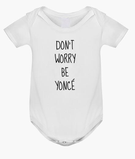 Ropa infantil no se preocupe sea Yonce / presupuesto