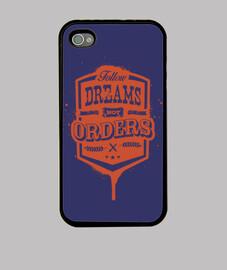 no seguir las órdenes de los sueños iphone 4