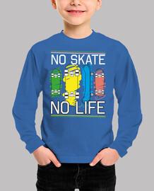 no skate no life - abbigliamento per kids