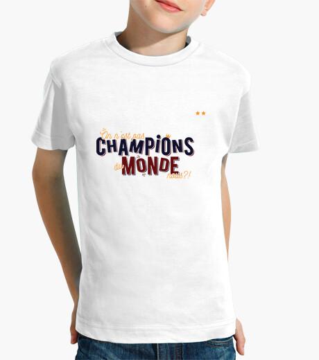 Ropa infantil no somos campeones del mundo