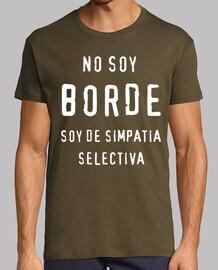 No soy BORDE