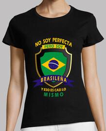 No soy perfecta, soy Brasileña chica