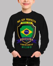 No soy perfecta, soy Brasileña niña