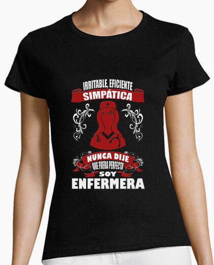 Camiseta No soy perfecta, soy Enfermera