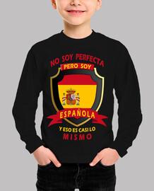 No soy perfecta, soy Española niñas