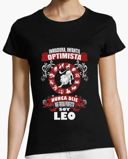 Camiseta No soy perfecta, soy Leo chica