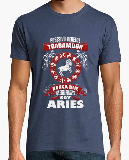 Camiseta No soy perfecto, soy Aries chico