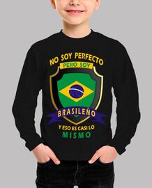 No soy perfecto, soy Brasileño niño