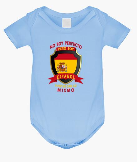Ropa infantil No soy perfecto, soy Español bebe