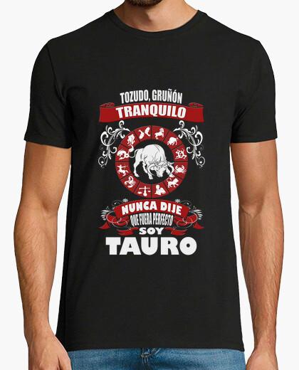 Camiseta No soy perfecto, soy Tauro chico