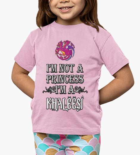 Ropa infantil No soy princesa soy Khaleesi niños