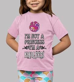No soy princesa soy Khaleesi niños