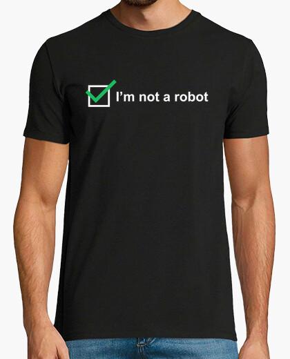 Camiseta No soy un robot