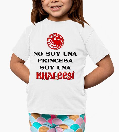 Ropa infantil No soy una princesa soy una khaleesi