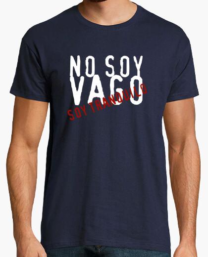Camiseta No soy vago