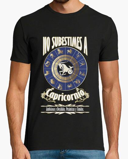 Camiseta No subestimes capricornio chico