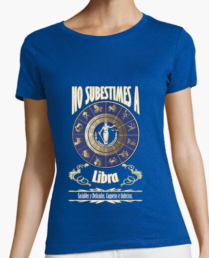 525fa824c66fe Libra No Latostadora Subestimes Camisetas Chica Nº 1135821 Camiseta qSCw1Ew