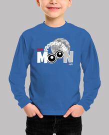 No te prometo la luna Camiseta Niño Manga Corta