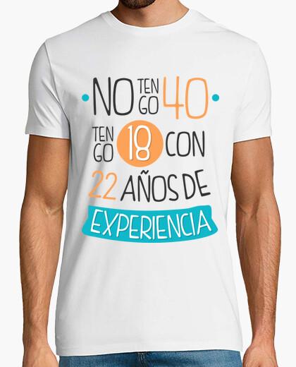 Camiseta No tengo 40... 1981