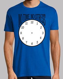 No time, no stress (negro)