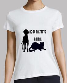 No to animal abuse model 1 girl