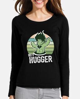no una camisa de abrazador