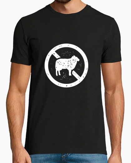 Camiseta no una oveja
