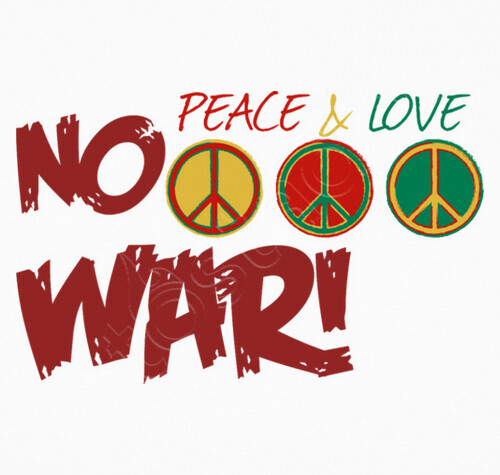 love peace and war War and peace are contrasting states, one being defined by conflict involving the   but we shall go from love to love and peace to peace, until at last all the.