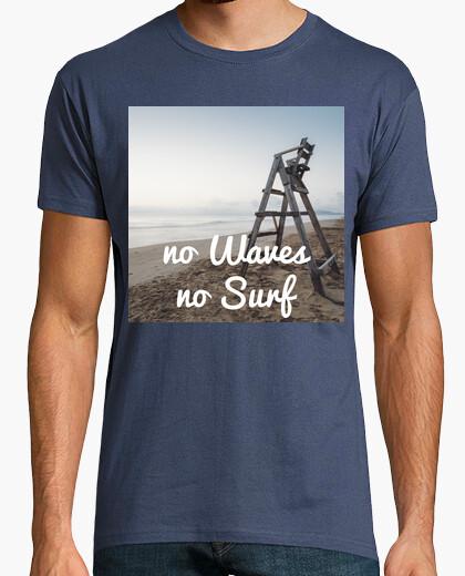 Camiseta No waves no surf