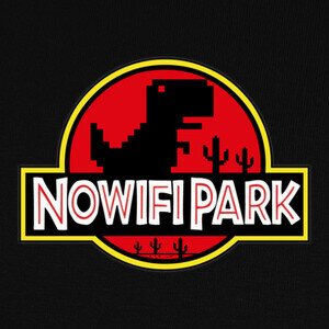No Wifi Park T-shirts