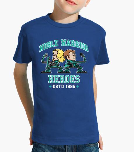 Ropa infantil Noble Warrior Heroes