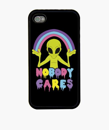 Funda iPhone Nobody Cares