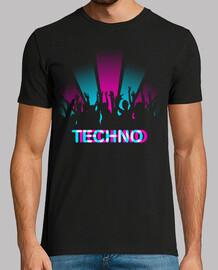 Noche de fiesta Techno