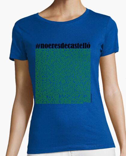 Camiseta #noeresdecastello