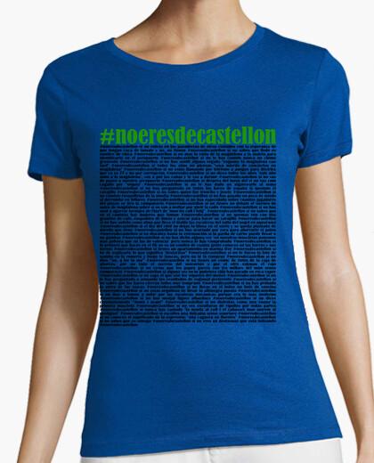Camiseta #noeresdecastellon