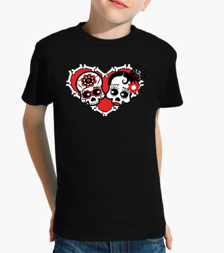Vêtements enfant noir amour mort