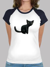 noir baseball de chat