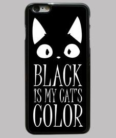 noir est mes chats de couleur