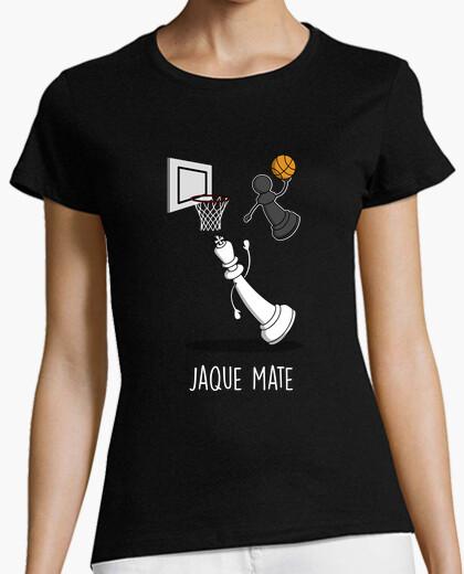 Tee-shirt noir mat