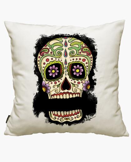Housse de coussin nom mexicain de votre crâne !!!