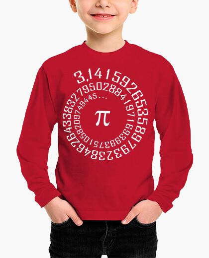 Vêtements enfant nombre de pi - maths