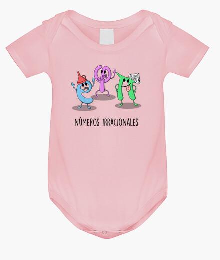 Vêtements enfant nombres irrationnels
