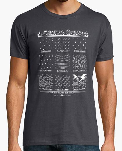 Camiseta Nomes Da Choiva Galega