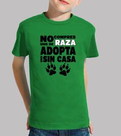non comprare una razza adottare uno senza casa