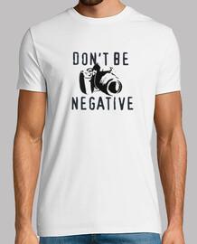 non essere negativo (bianco)