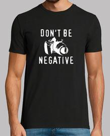 non essere negativo (nero)