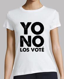 non les votato
